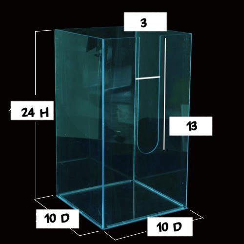 Image 0 of Custom Made Clear Acrylic Box