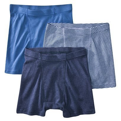 We'll pull from our standard cotton boxers, Hanes, Jockey, Dickies, Dockers etc to use for this item