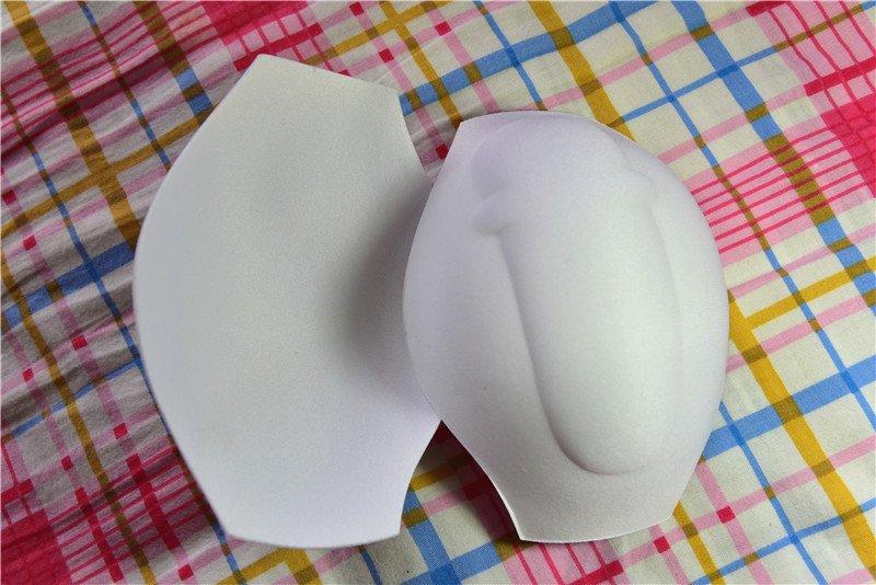 Top version 1 thinner foam, bottom Version 2 new thicker foam