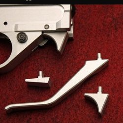 B) SILVER Tony Kidd Ultimate Match Trigger System-speed Mag release Option