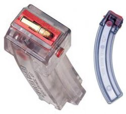 BUTLER CREEK 25 round Magazine Hot Lips smoke plastic lips
