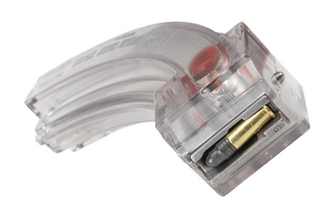 Image 0 of <font face=''Verdana'' size=''2''>BUTLER CREEK 25 Round CLEAR STEEL LIPS Mag