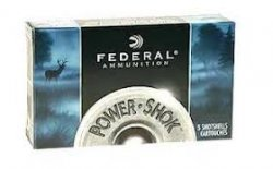Thumbnail of Federal Power-Shok 00 Buckshot 2 3/4 Full-Power 9 Pellet 12 Gauge (50 Rounds)