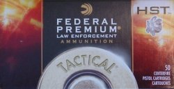Thumbnail of Federal HST 9mm 124gr LE P9HST1 (50 Rounds)