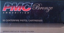 Thumbnail of PMC Bronze .380 AUTO 90gr FMJ 380A (50 Rounds)