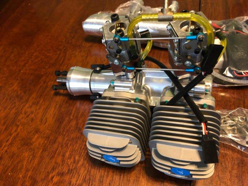 Image 1 of DLA64i2 inline twin cylinder Gasoline aircraft engine