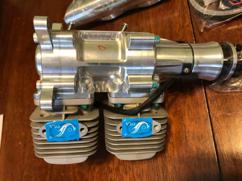 Image 3 of DLA64i2 inline twin cylinder Gasoline aircraft engine