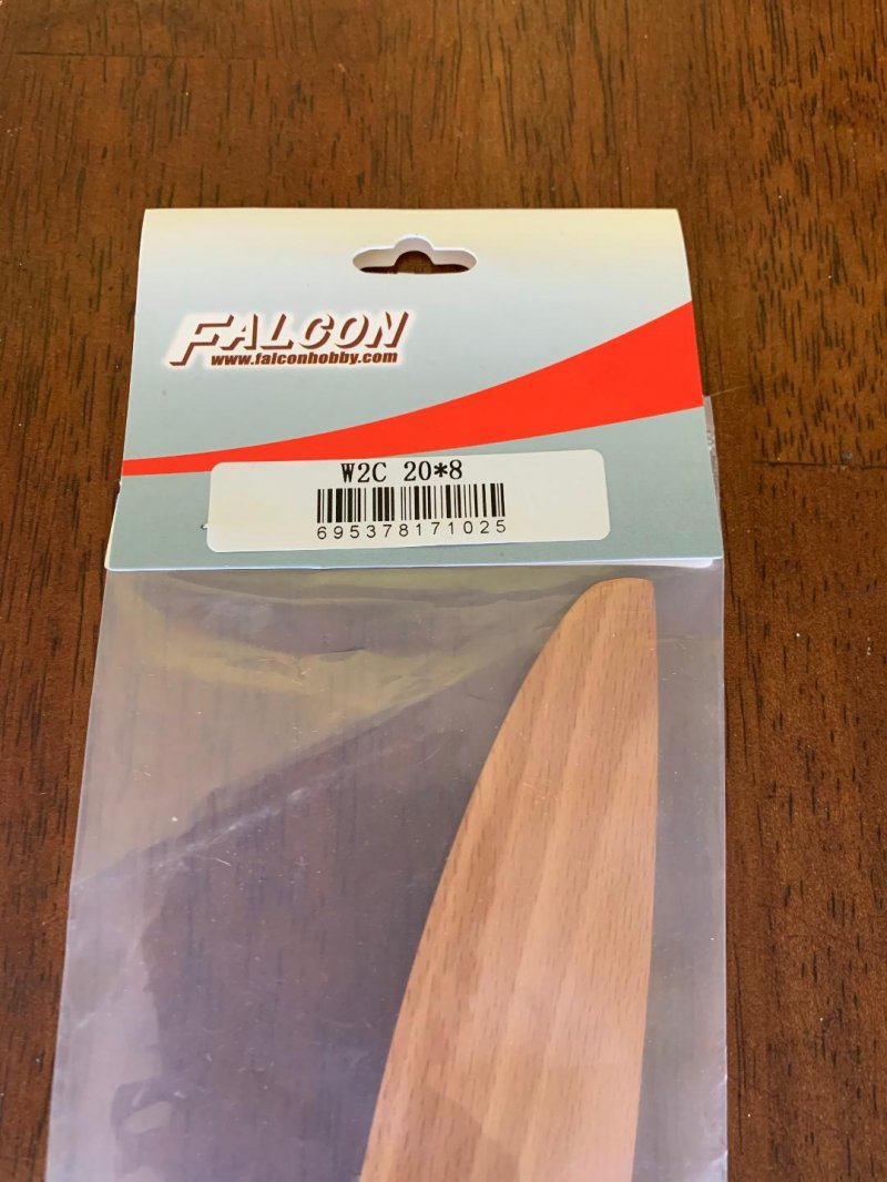 Image 1 of Falcon Wood Props (German beech) 20x8
