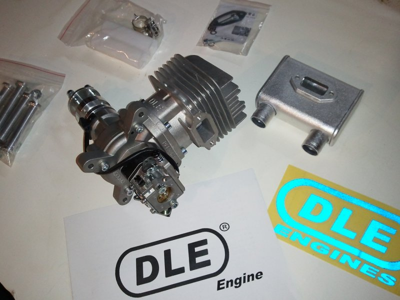 Dle 55 ra engine with standoffs dle free engine image for Dle 30 mounting template