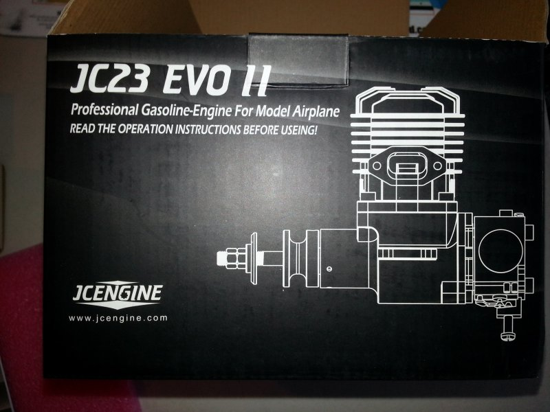 Image 5 of JC EVO 23cc II gasoline aircraft engine