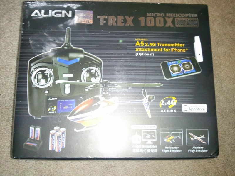Image 0 of Align T-REX 100X SUPER COMBO-SMART PHONE COMPATABLE