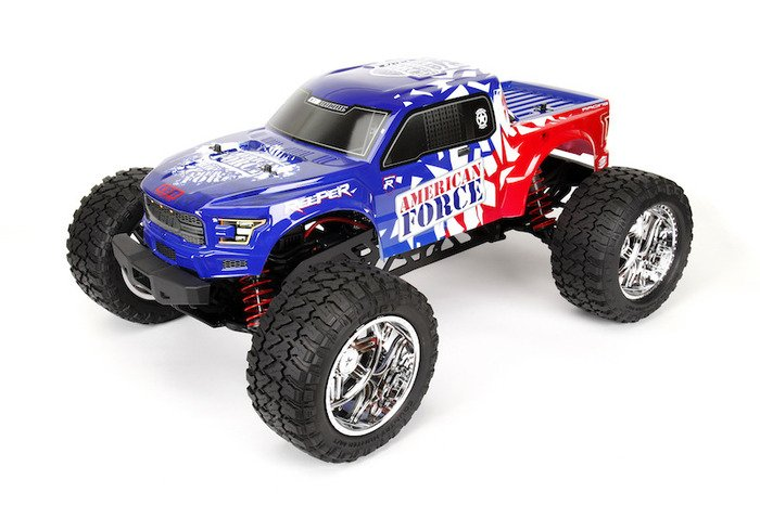 Image 0 of CEN Reeper American Force Edition Mega Monster Truck 1/7 RTR, Brushless