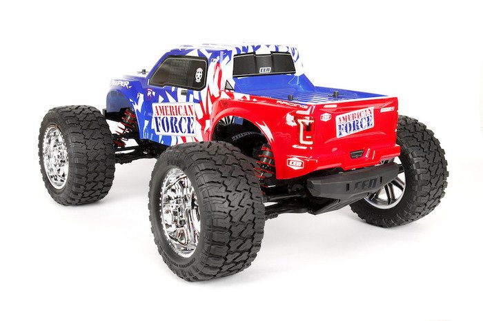 Image 1 of CEN Reeper American Force Edition Mega Monster Truck 1/7 RTR, Brushless