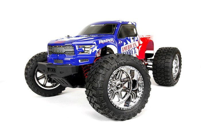 Image 2 of CEN Reeper American Force Edition Mega Monster Truck 1/7 RTR, Brushless
