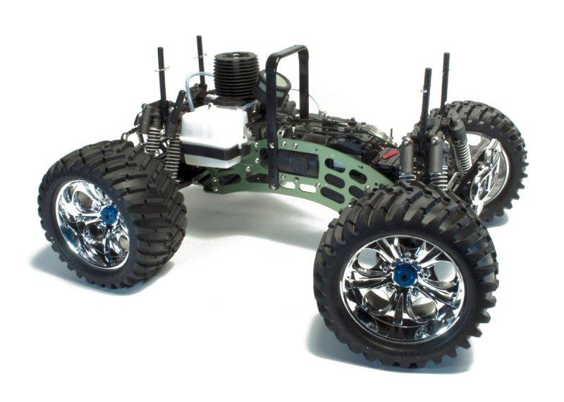 Nitro Colossus 1 8 Rtr Monster Truck W 2 4g Radio