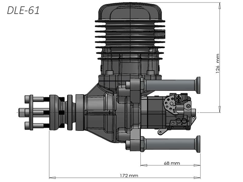 Pd on Da Rc Engines Twin Cylinder