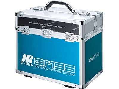 Image 0 of JR DMSS Dual Transmitter Case, Blue