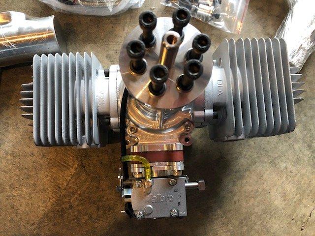 Image 1 of DLA 180cc Gasoline aircraft engine