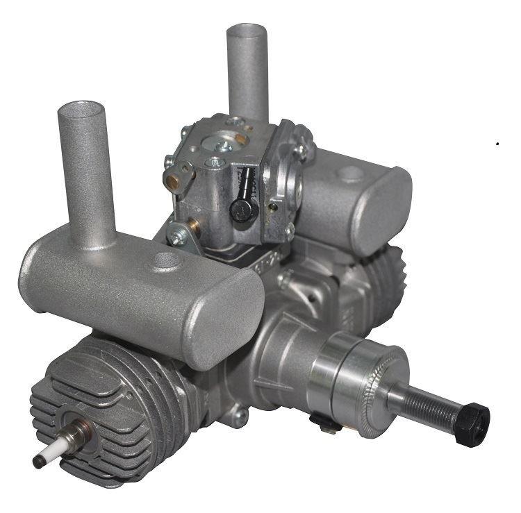Image 7 of RCGF 21cc Twin Cylinder Gas R/C Engine