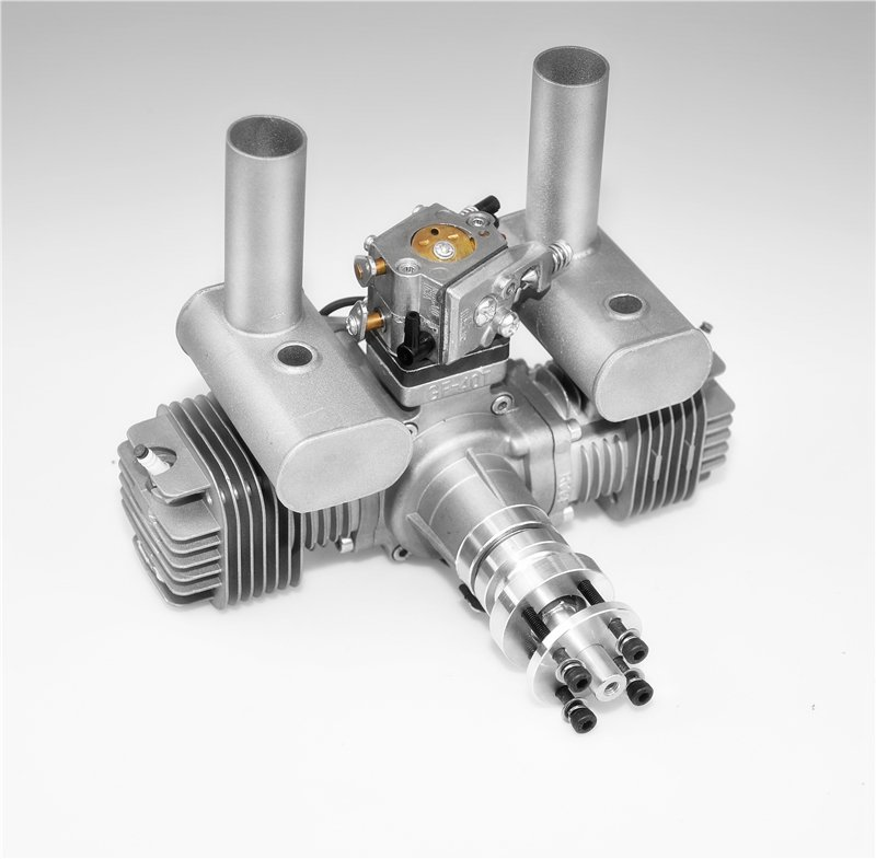 Image 3 of RCGF 40TS 40CC TWIN Gas Engine