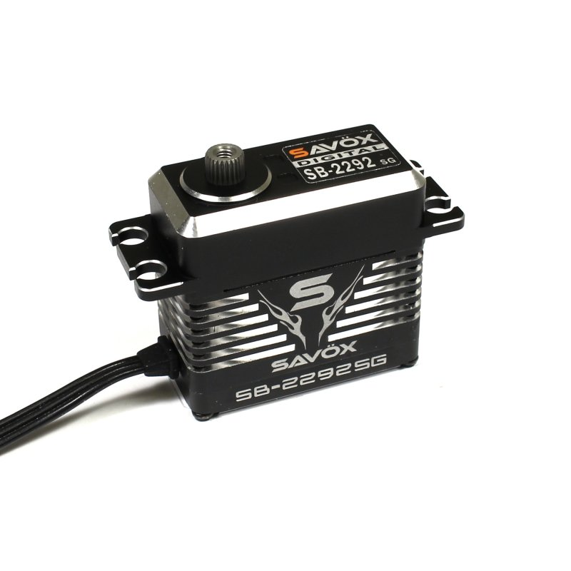 Image 0 of Savox 2292SG Monster Performance, Brushless Servo Black Edition 0.055sec / 624.9