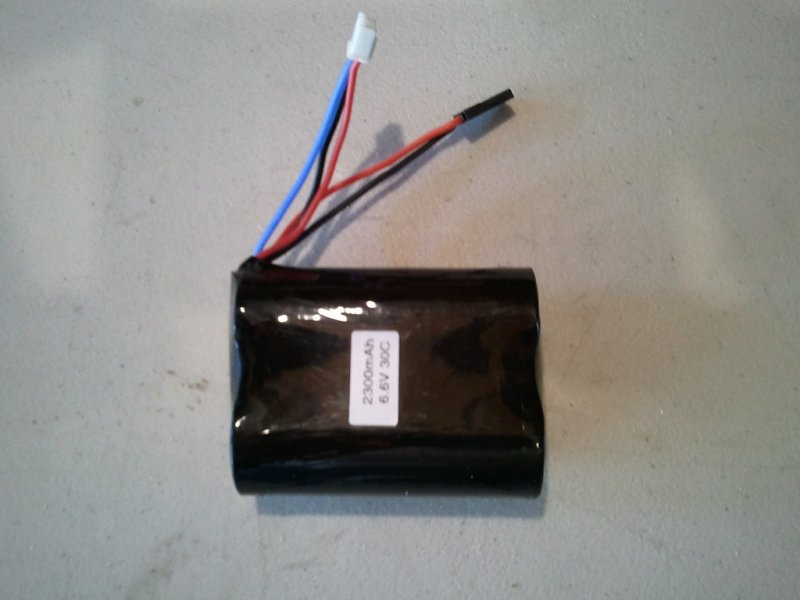 Image 0 of A123 battery (lithium Phosphate) 2300mah 30C 2S1P