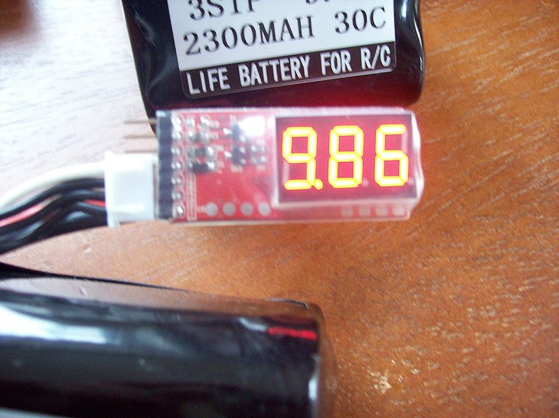 Image 2 of A123 battery (lithium Phosphate) 2300mah 30C 3S1P