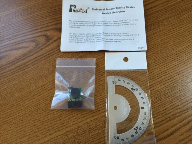 Image 0 of RCEXL Ignition Hall Sensor Test Kit/ Timing Device