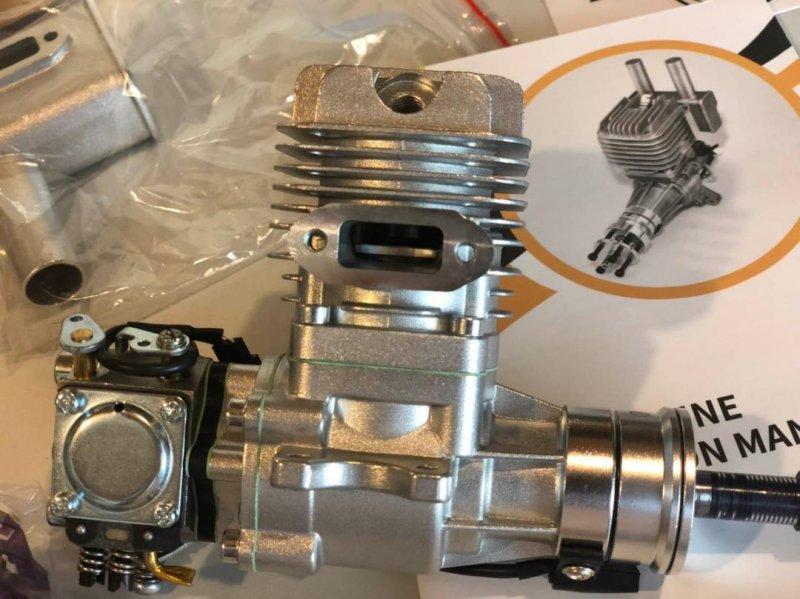 Image 1 of RCGF 15cc (SE) Gas Engine Beam Mount Version