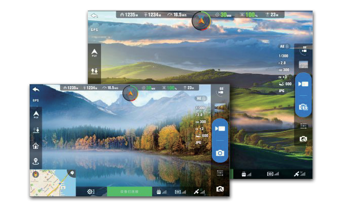 Image 5 of Autel X-Star Premium Drone 4K Camera, 1.2-mile Live View (White)