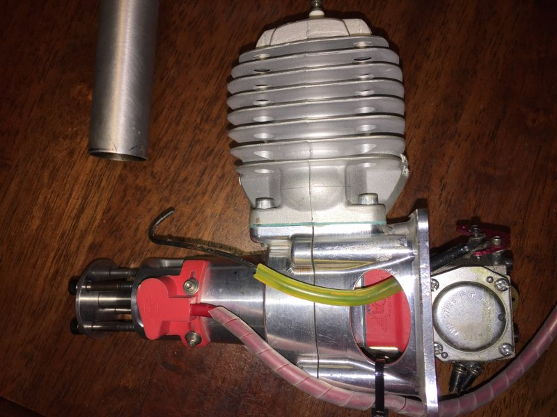 Image 1 of DA60 Aircraft engine with stock muffler and ignition