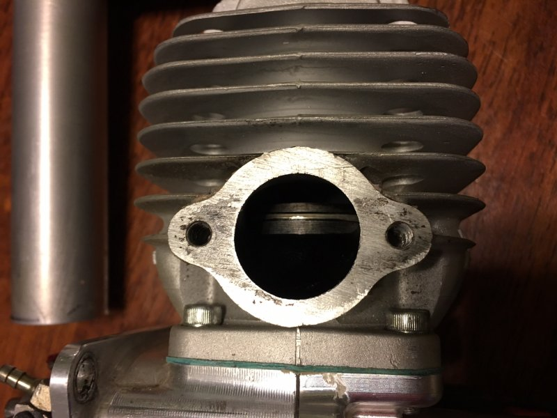 Image 2 of DA60 Aircraft engine with stock muffler and ignition