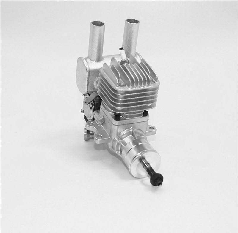 Image 6 of RCGF 10cc rear exhaust Stinger Gas Engine
