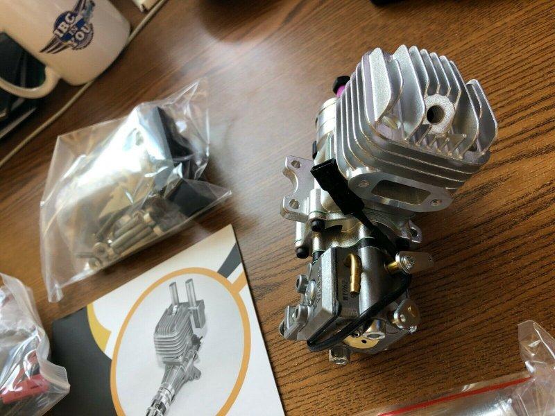 Image 2 of RCGF 10cc rear exhaust Stinger Gas Engine