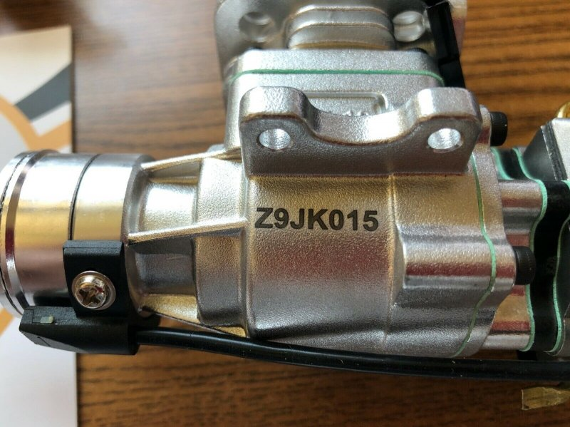 Image 4 of RCGF 10cc rear exhaust Stinger Gas Engine