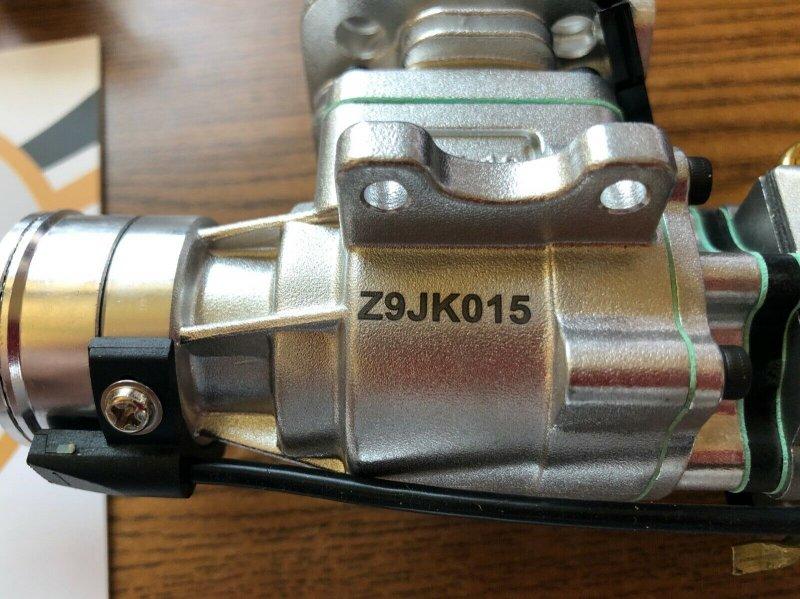 Image 4 of RCGF 10cc rear exhaust Stinger Gas Engine