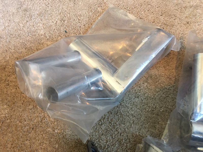 Image 1 of pitts mufflers, Smoke mufflers 100cc & flex headers garage sale ad