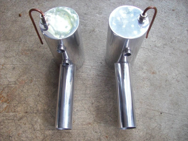 Image 0 of Smoke muffler set for 100cc size engines DA100/DLE111