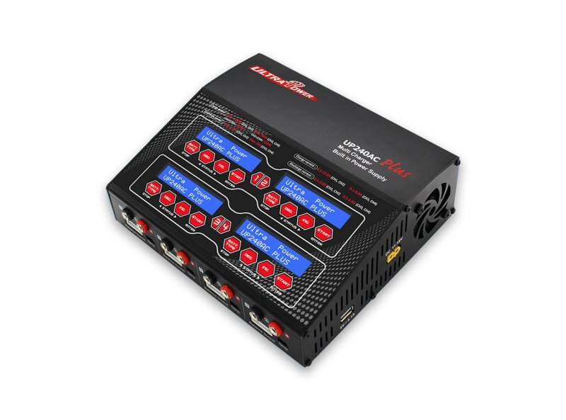 Image 3 of Ultra Power UP240 AC PLUS 240W 4-PORT Multi-Chemistry AC/DC Charger