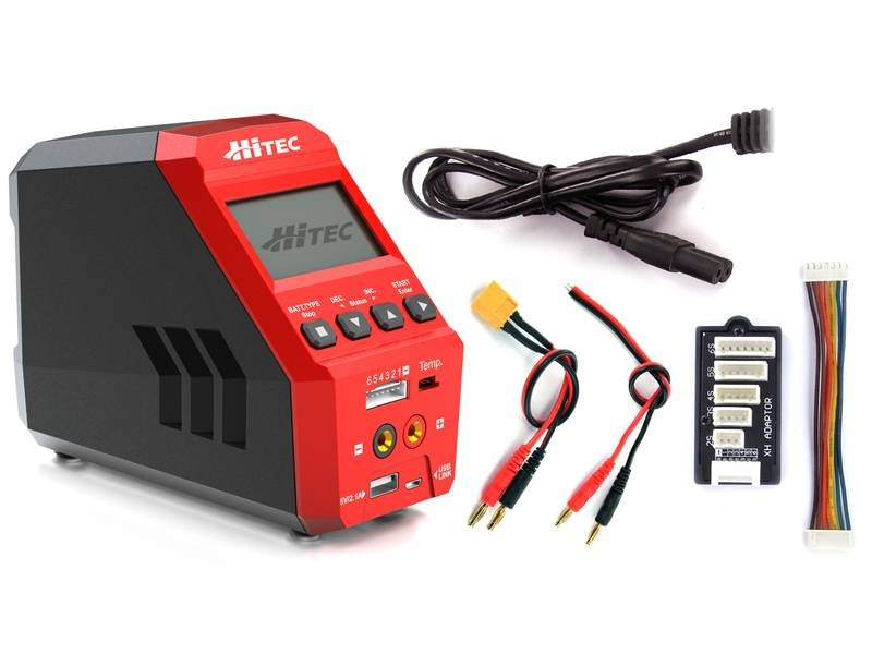 Image 3 of Hitec RDX1 AC/DC Battery Charger/Discharger Black Friday Extended