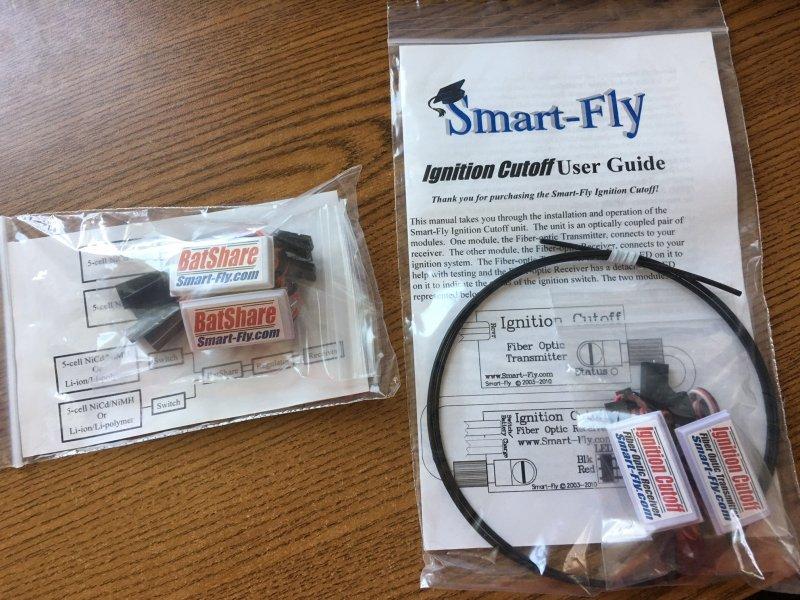 Image 0 of Smart Fly BatShare (2) & Ignition Cutoff (1)
