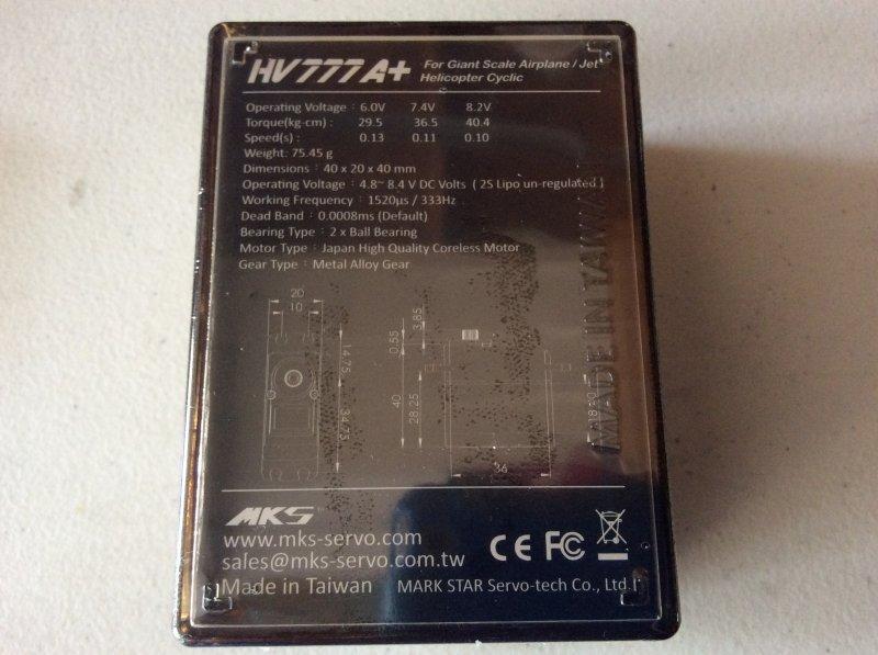 Image 3 of LOT of 2 MKS HV777A+ Aluminum upper Casing (0.1 sec/60 - 40.40 kg.cm (561.1 oz