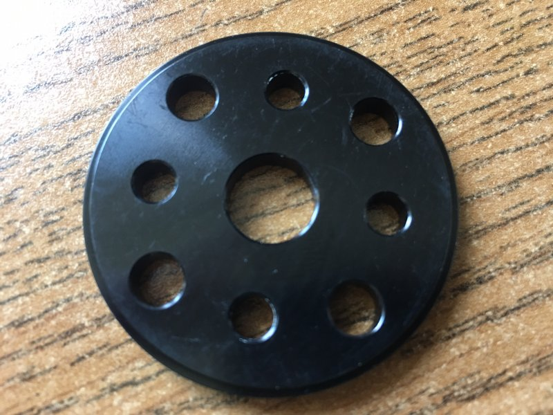 Image 1 of 1.75in/45mm Aluminum Alloy Spinner for DLE30/55, DA50/EVO54, MLD35/70