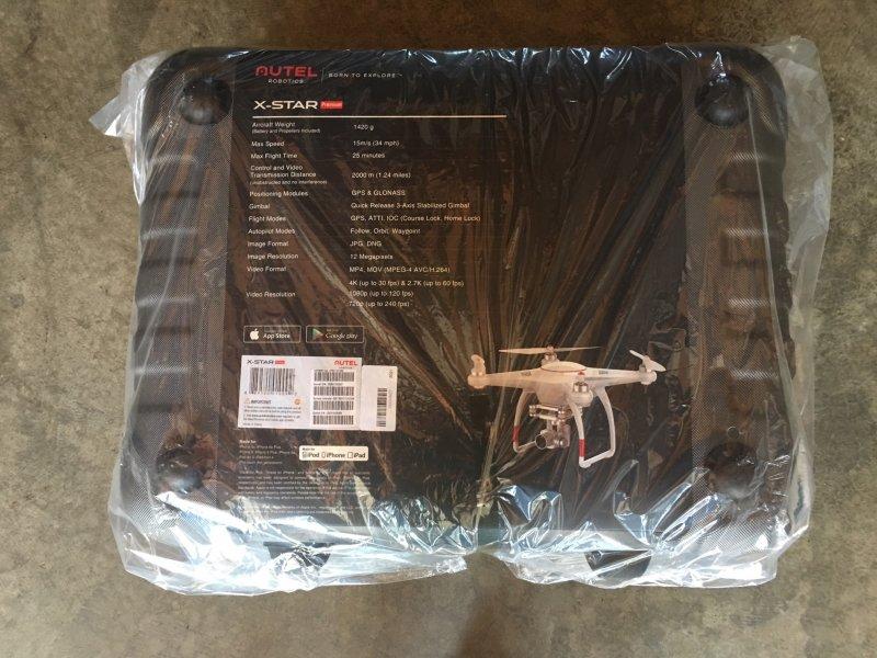 Image 11 of Autel X-Star Premium Drone 4K Camera, 1.2-mile Live View (White)