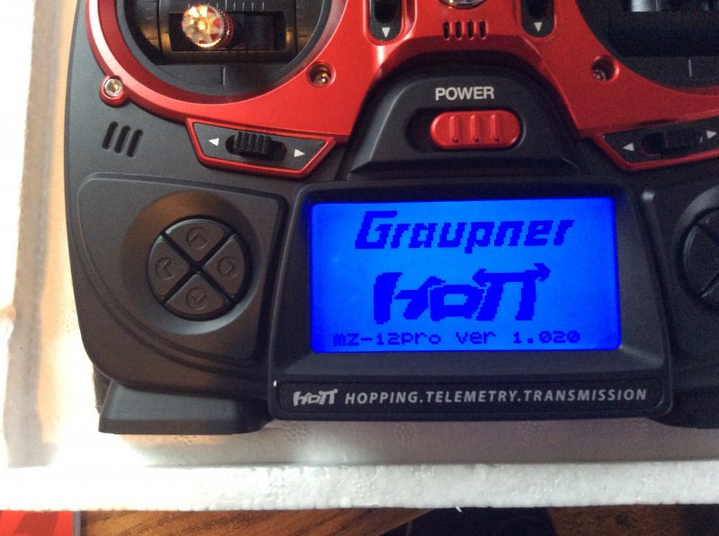 Image 10 of Graupner mz-12 PRO 12 Channel 2.4GHz HoTT Transmitter with Falcon 12 Receiver
