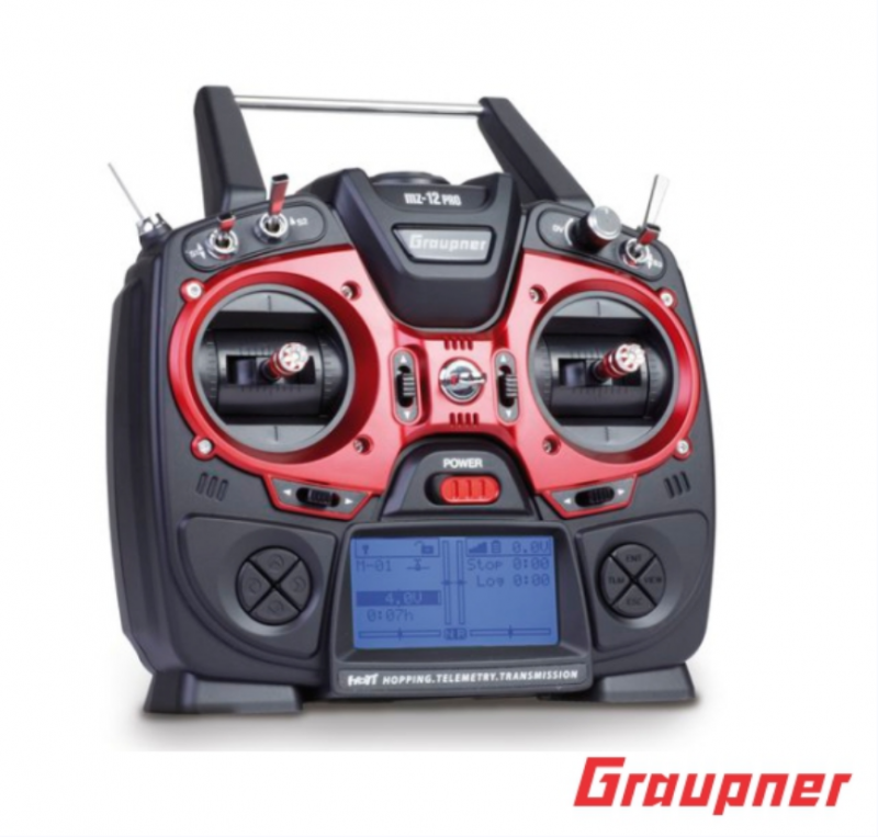 Image 9 of Graupner mz-12 PRO 12 Channel 2.4GHz HoTT Transmitter with Falcon 12 Receiver