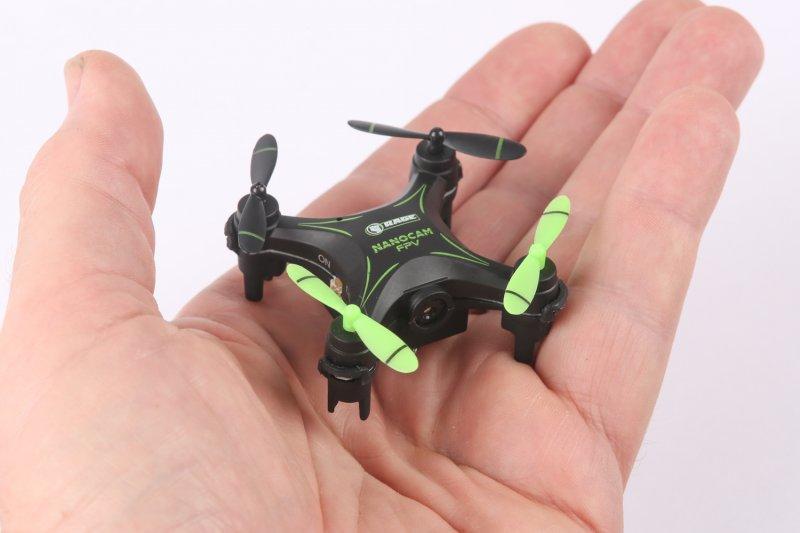 Image 1 of RAGE NanoCam Ultra-Micro FPV RTF Drone