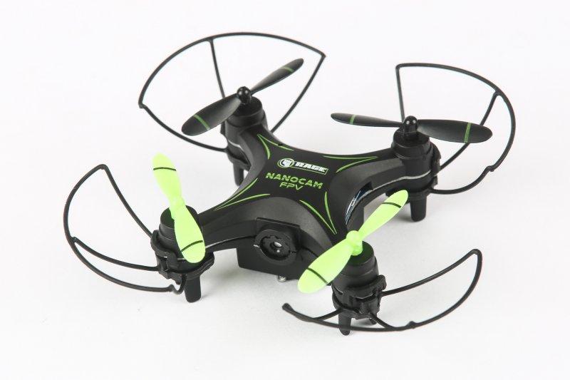 Image 3 of RAGE NanoCam Ultra-Micro FPV RTF Drone