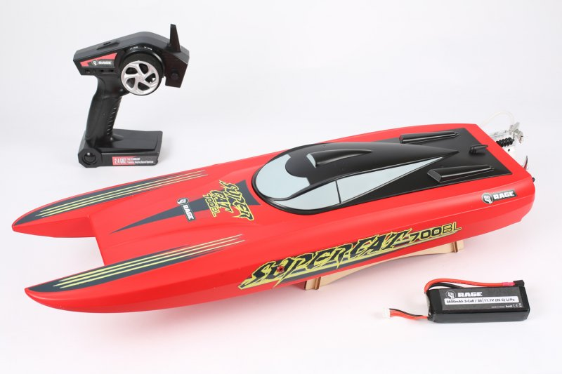 Image 0 of RAGE Super Cat 700BL Brushless RTR Catamaran Boat