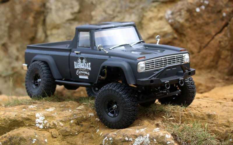 Image 0 of Christmas Special Carisma Scale Coyote 4WD Scaler, RTR (285mm Wheelbase)